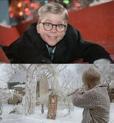 A Christmas Story - Doug saw this for the FIRST time on Sunday! How do you live in the U. for 55 years and not see it! Christmas Story Movie, Holiday Movies, Christmas Time Is Here, Christmas Things, Little Christmas, Christmas Carol, Christmas Ideas, Xmas, Family Traditions