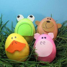Dozens of Easter Egg ideas: Animals, etc.