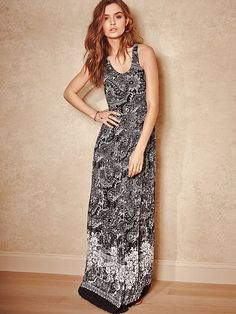 Racerback Maxi Dress - Recieve CashBack by Shopping thru Shop.com/savesavy.