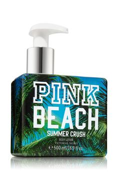 Summer Crush Beach Collection Body Lotion - Pink - Bath & Body Works