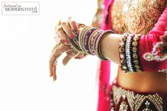 Indian Bangles -  more @ http://www.ModernRani.com
