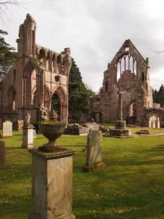 Very peaceful at Dryburgh Abbey, Scotland