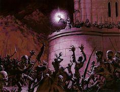 Zealous Persecution card art Magic the Gathering