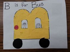 Letter B Crafts for Kindergarten - Preschool Crafts
