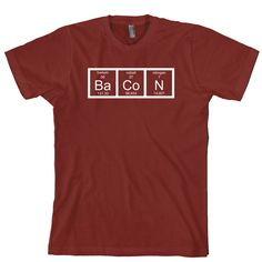 Bacon Chemistry Tee @Mario Law Loubet