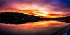 Sunset over still waters by Tim Matthews on 500px