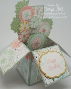Stampin' Up! Stamping T! - Card in a Box SAB