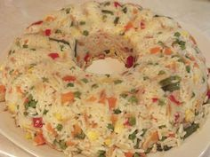 and bon appetite !: Rice with vegetables Other Recipes, Side Dish Recipes, Rice Recipes, Healthy Recipes, Rice Dishes, Veggie Dishes, Food Dishes, Cookbook Recipes, Cooking Recipes