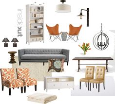 """""""CM Living/Dining"""" by insideoutdesign on Polyvore"""