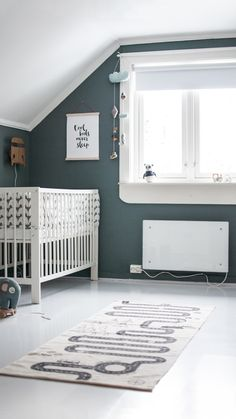 Wall Paint Colors, House Colors, Cribs, Palette, Baby, Furniture, Scene, Education, Home Decor