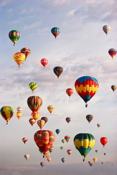 International balloon festival, Albuquerque
