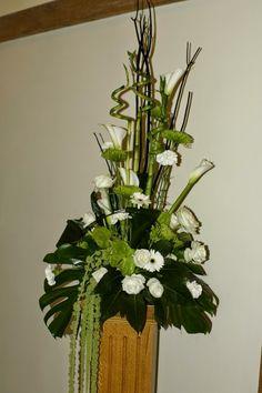 Arreglos Florales con Pedestal, parte 3