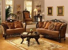 traditional chairs for living room | Traditional European Sofa ...