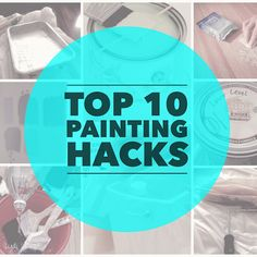 Wish I knew these tips and tricks before we got started painting!