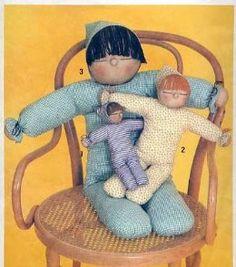 "Simplicity 9544 Charming Vintage Stuffed Dolls Pattern~10"", 17"" & 30""~: Simplicity Co: Amazon.com: Books"