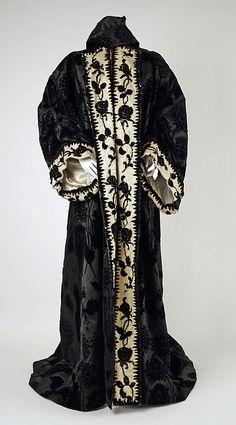 Worth silk coat 1898