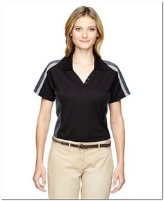 9729ec96 Extreme 75119 Ladies Eperformance Strike Colorblock Snag Protection Polo
