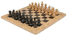 Black Marble  Coral Stone Staunton Chess Set with 16 Board * Details can be found by clicking on the image.