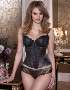 The Delphi Basque by Masquerade, through Bravissimo. Bravissimo is a UK-based lingerie store specializing in underthings and clothes for those of us who need the larger cup sizes but don't want to skimp on quality or style. Highly recommend - great customer service - worth the import!
