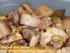 Pork and Chicken Adobo - Adobong Puti