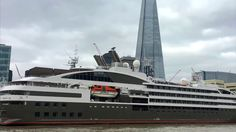 A Tour of Ponant Luxury Yacht Le Boreal on The River Thames