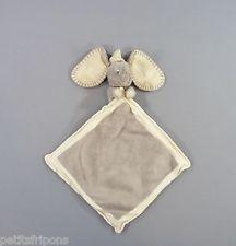 Doudou plat éléphant Dumbo velours gris Disney Nicotoy 42 cm
