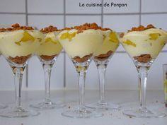 Recette de Verrine de mascarpone et ananas à la vanille