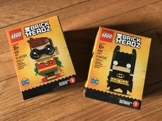 Lego BrickHeadz Batman and Robin go for collectible superfans (unboxed)     - CNET Legos 2017 toy outlook includes robots and social networks but theres also a push to the Figure Collector. You know who you are. Piles of vinyl characters shelves of cool posed art.   At New Yorks Toy Fair Lego showed off its latest line called BrickHeadz. BrickHeadz are stylized character kits complete with their own base. There are Marvel DC and Disney ones coming this year (Beauty and the Beast Pirates of…
