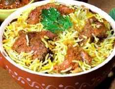 Great Arabic Food Recipes: Saudi Chicken Biryani Recipe, ,