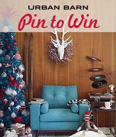 Pin to Win a $500 Urban Barn shopping spree!