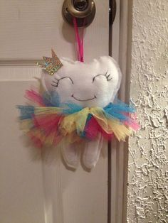 Tooth fairy pillow - front