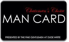 Chairman'a Choice Man Crd