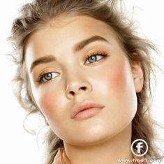 sunkissed makeup omg this is soo nice and soo natural i lover her eyebrows!