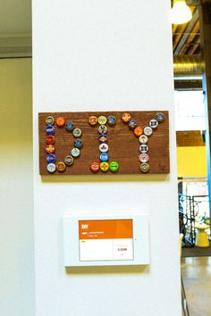 会議室の名前は、全て Pinterest で人気のあるモノの名前なんです!