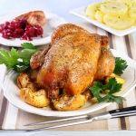 Kurczak pieczony w majeranku
