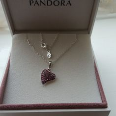 Pandora Necklace with a Silver S925 Sparkling Pendant. Comes with Gift box and gift bag. This will be posted lst class signed for please allow 5 to 8 working days for delivery. Please ask if there is another way of posting that you require. I offer returns but, buyer pays return postage . Many thanks …