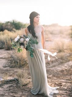 Alexandra Grecco Amelia Gown in pistachio.  Photo by Ace & Whim.