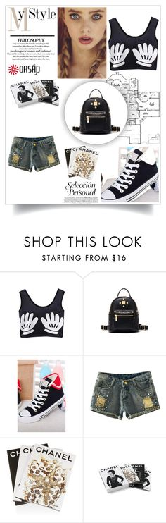 """""""www.oasap.com"""" by semic-merisa ❤ liked on Polyvore featuring Assouline Publishing and Chanel"""