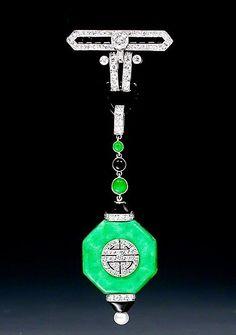 Van Cleef,jadeite art deco