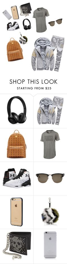 """""""Untitled #2"""" by alton-1 ❤ liked on Polyvore featuring Beats by Dr. Dre, MCM, Puma, Under Armour, Tom Ford, Incase, Fendi, Alexander McQueen and Native Union"""