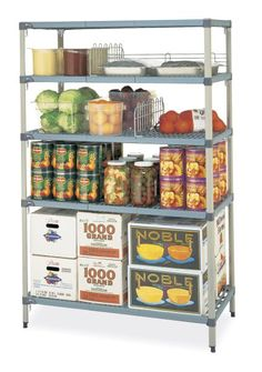 1000 images about MetroMax Polymer Shelving Systems on