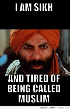 Sikh and tired... Sikhs against Islamic atrocities https://www.facebook.com/SikhsAgainstIslamicOppression