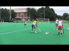 Field Hockey Drills - YouTube