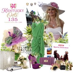 Kentucky Derby Fashion, created by doreen-johnson on Polyvore