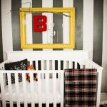 Perfect boys room!  Just no quilts, pillows or toys in the crib when baby is sleeping.