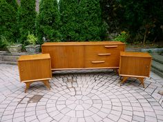 FUNKY mid century Modern DRESSER credenza by CIRCA60 on Etsy, $1295.00