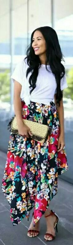 Mix Nouveau New York Skirt / Fashion by Center Street Chic