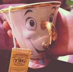 This makes me want to sip some tea while singalong 'be my guest' song!