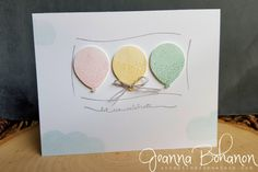 #TGIFC33 with Balloon Celebrations by copsmonkey - Cards and Paper Crafts at Splitcoaststampers
