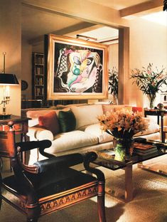 Stunning Classic Contemporary Mix of Art and Furnishings